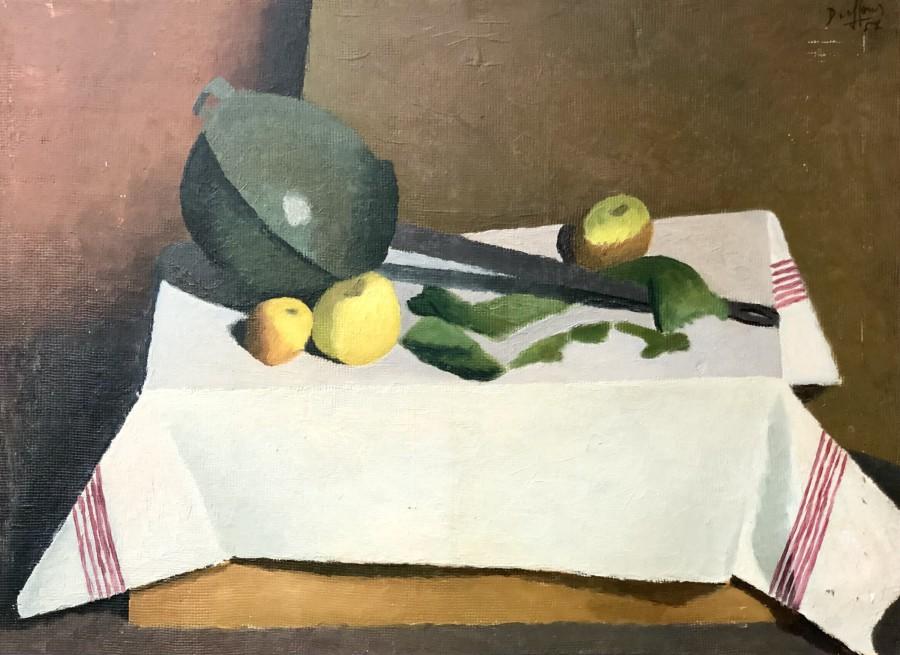 Jacques André Duffour, Still Life, 1952