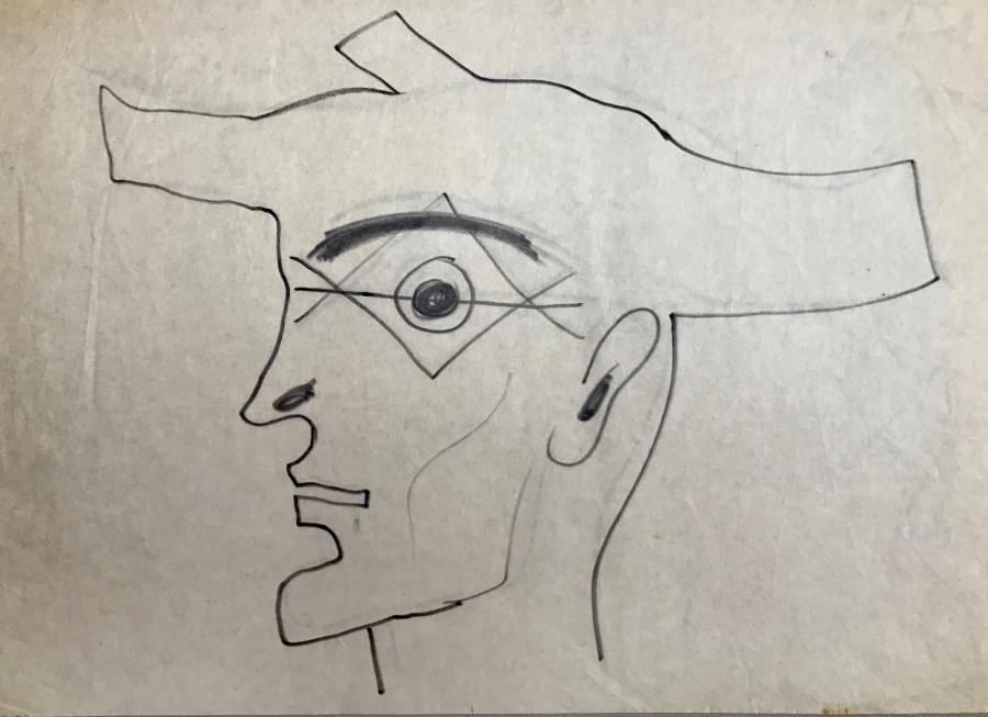 John Banting, Self Portrait, c. 1948