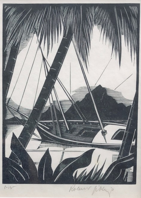 Robert Gibbings, From Iorana, 1932