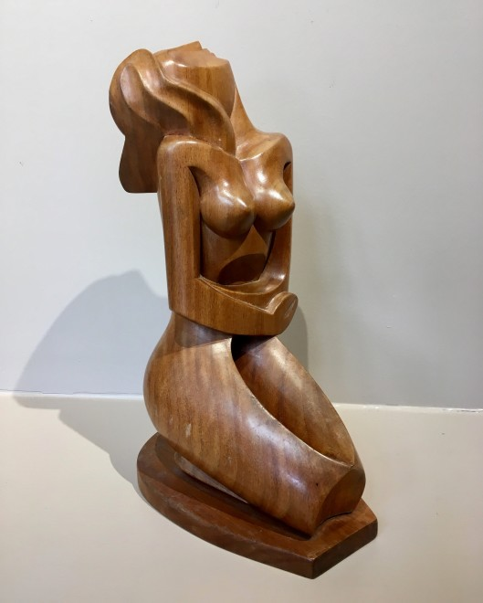JOSEF CANTRE (1890-1957)  Kneeling Nude, c. 1948