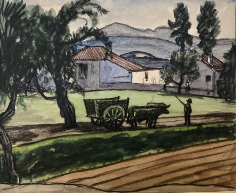Ethelbert White, Landscape, Granada, c. 1930