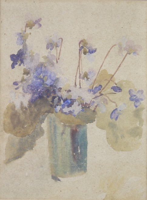 Gwen John, Still Life with Flowers