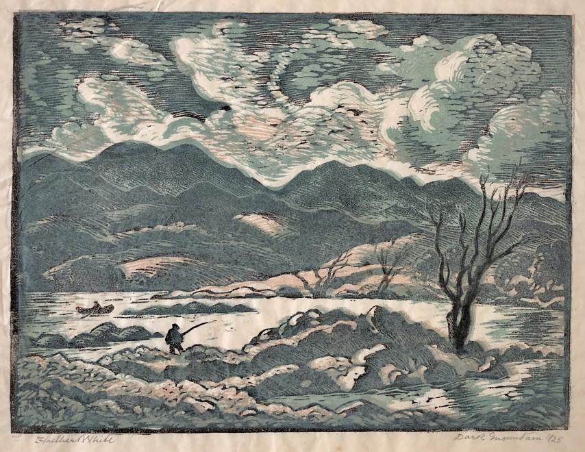 Ethelbert White, Dark Mountain, c. 1950