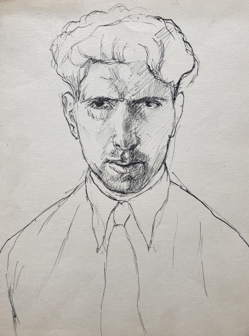 Fermin Rocker, Self Portrait, c. 1930s