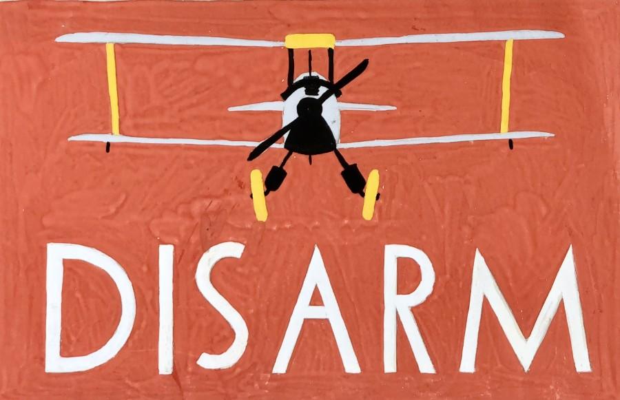 Rowland Hill, Disarm (Design for disarmament poster), 1939