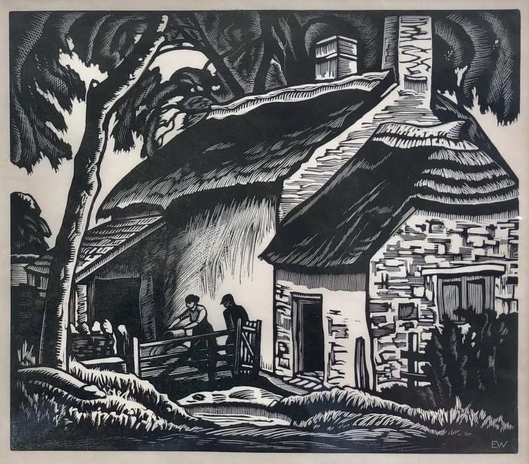 Ethelbert White, The Ploughman's Cottage, 1924