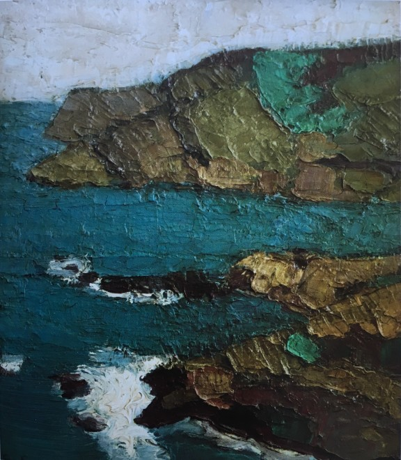 Bryan Senior , Seascape, Sark, 1960
