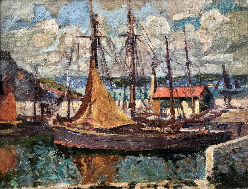 John Anthony Park, Brixham Harbour, c. 1908