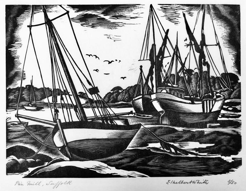 Ethelbert White, Pinmill, Suffolk, 1934