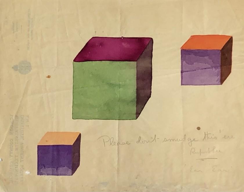 Rupert Lee, Colour cubes, 1920