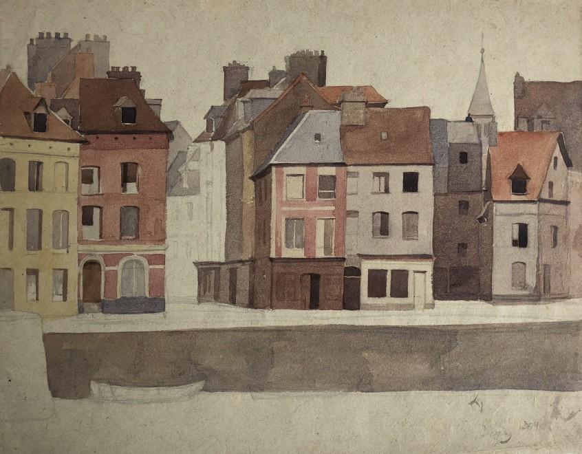 Dorothea Maclagan, Dieppe, 1921