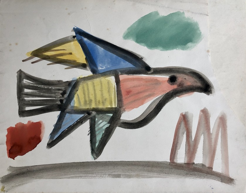 Carlos Carnero, Oiseau, c. 1950