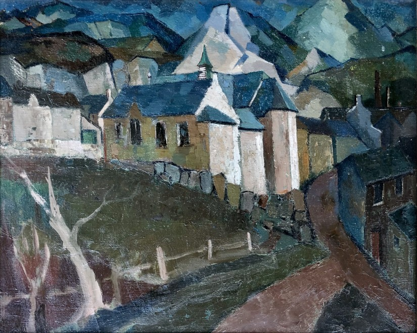 Clifford Charman, The Village Up The Hill, c. 1938