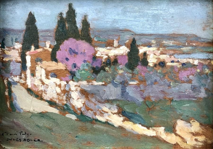 Jules Adler, Martigues, 1919