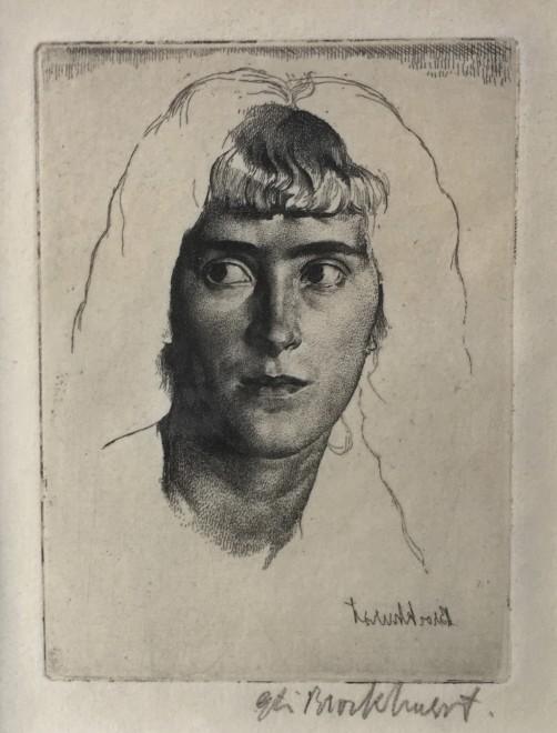Gerald Leslie Brockhurst, PHEMIE, 1923
