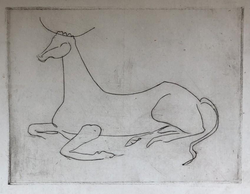 André Derain, La vache, c. 1930