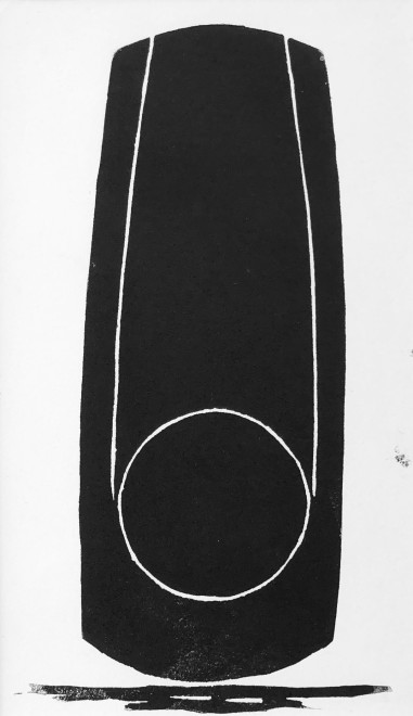 Denis Mitchell, Study for Sculpture, 1966