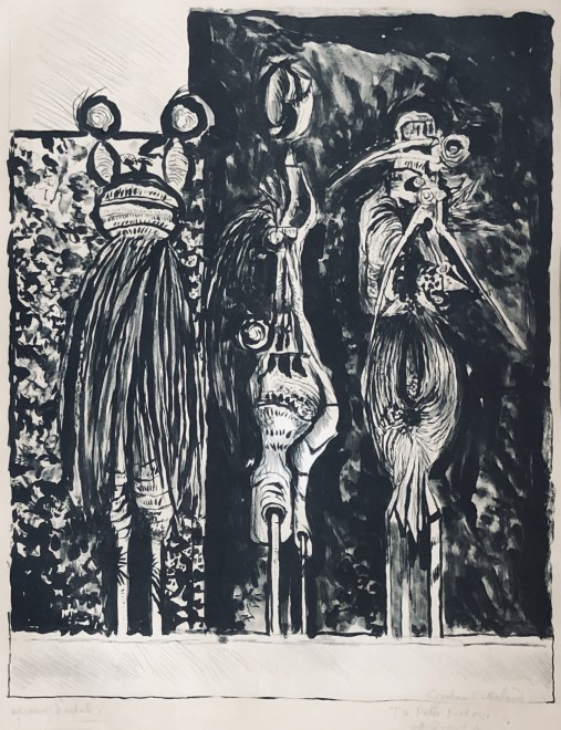 Graham Sutherland, Three Standing Forms, 1953