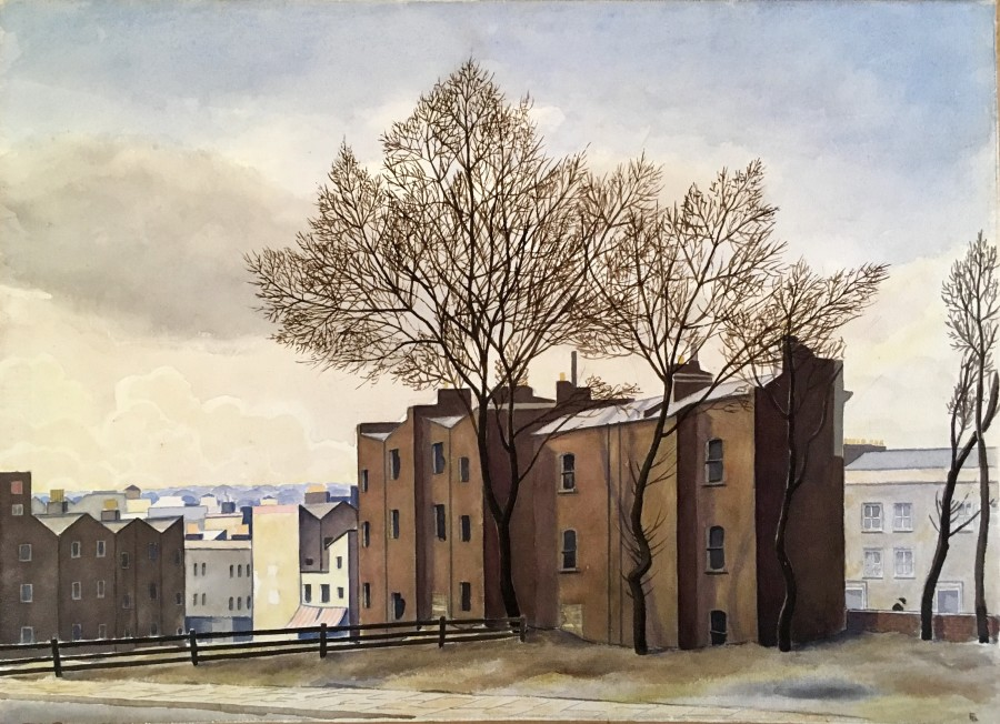 Fergus Graham, View of Hampstead, c. 1935