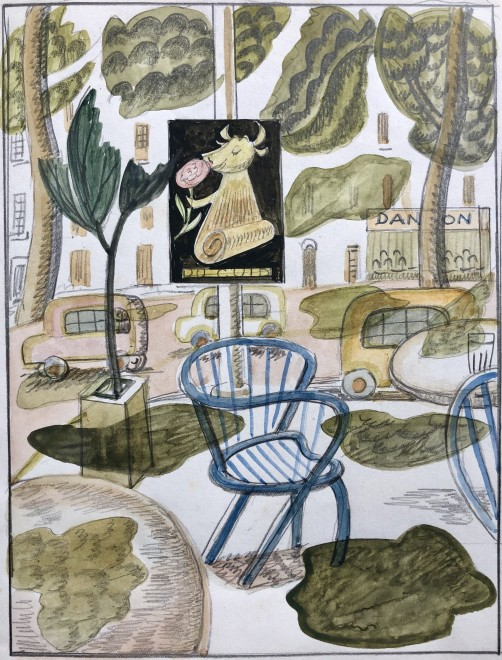 Doris Hatt, Café Terrace, 1961