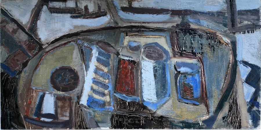 Tony O'Malley, St. Ives Interior, 1961