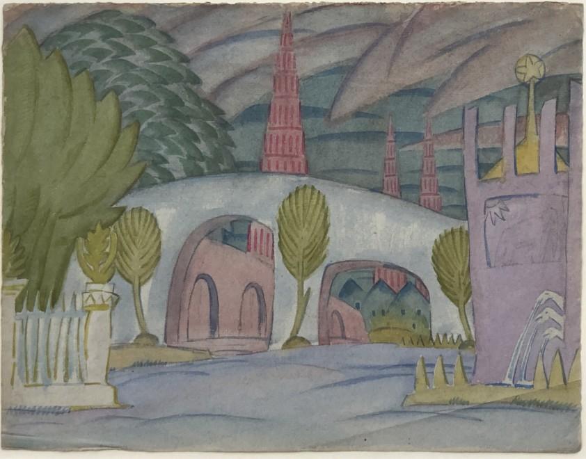Walpole Champneys, Fantasy Landscape II