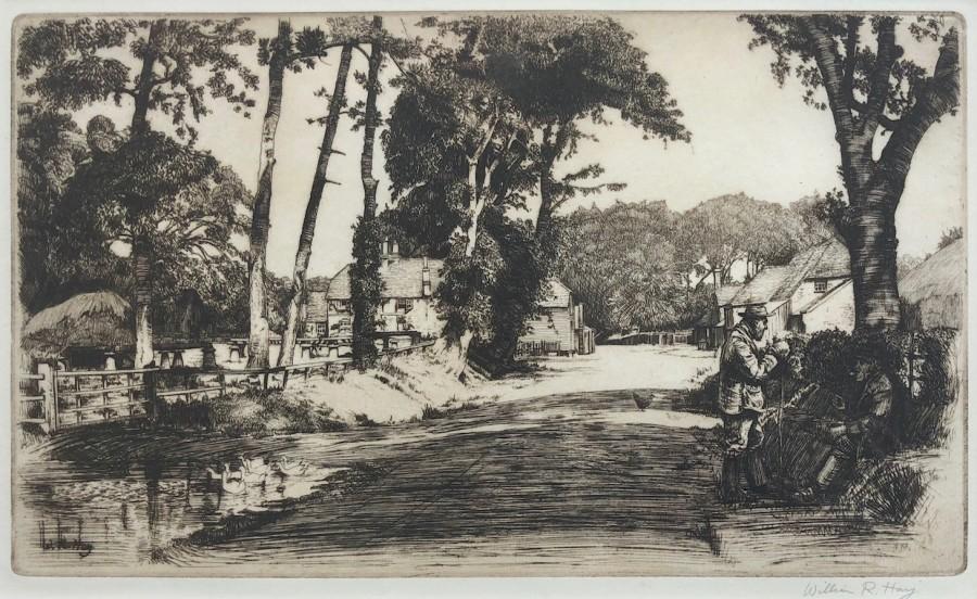 William R. Hay, Country Lane, c. 1920