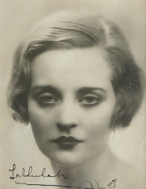 Dorothy Wilding, Tallulah Bankhead, c. 1925