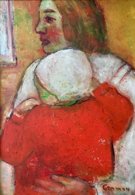 REG GAMMON (1894-1997)  Mother and Child
