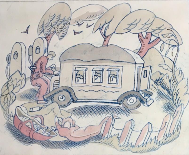 Man and Caravan
