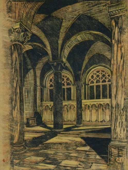 Cyril Power, Westminster Cathedral, Evening, c. 1928