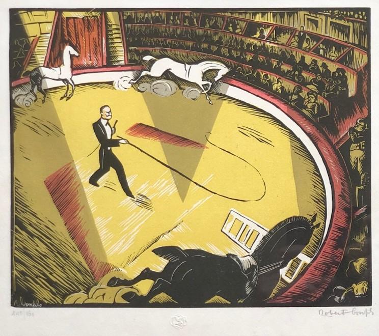 Robert Bonfils, Le circque, 1928