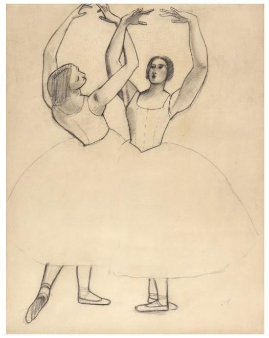 André Derain, Danseuses II (For the Ballets Russes), 1927