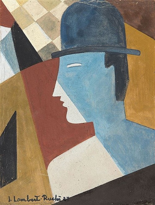 Jean Lambert-Rucki, L'homme au chapeau melon, 1927