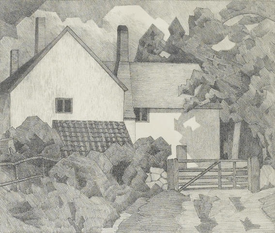 Robert Bevan, Harts Farm, Clayhidon, 1919