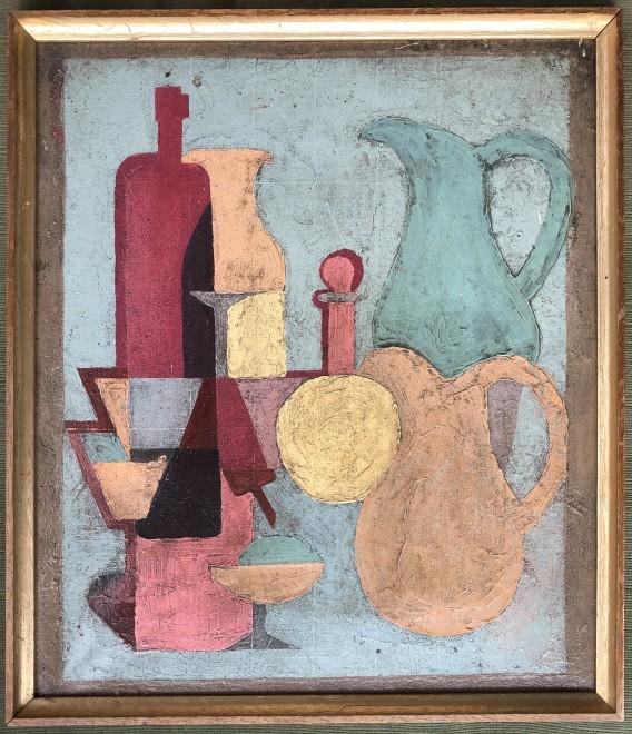 Stella Rankin, Still Life with Jugs, 1959