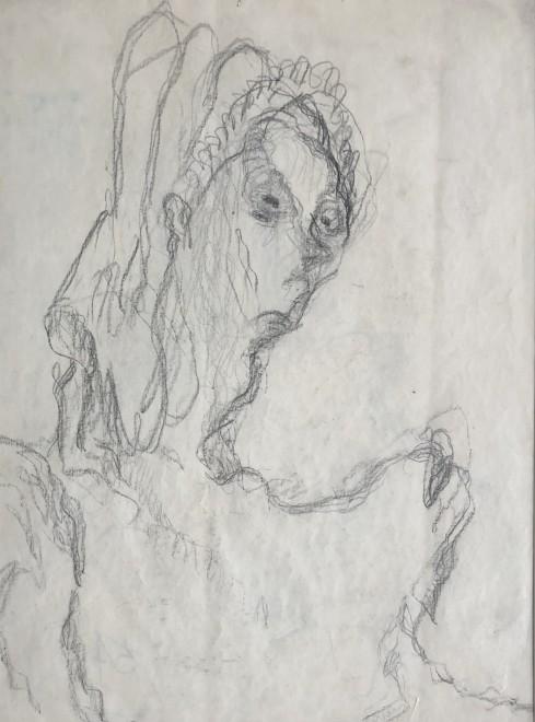 Vera Cuningham, Edith Sitwell, c. 1950