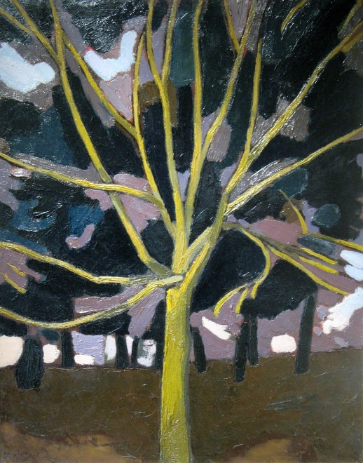 Bryan Senior, Yellow Tree, 1961