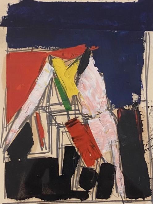 Peter Kinley, Studio Interior, 1959