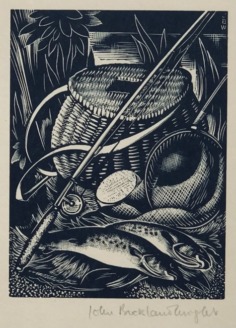 John Buckland Wright, Fly Fishing, 1933
