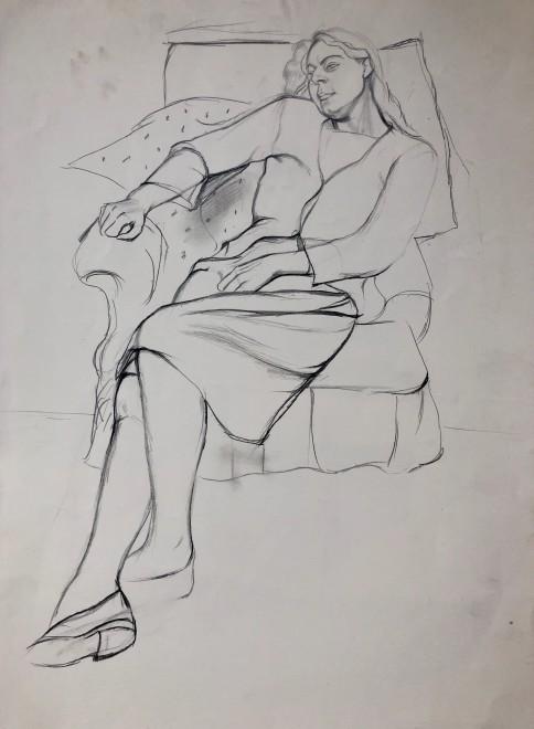 Dorothy Hepworth, Patricia Preece Seated, c. 1927
