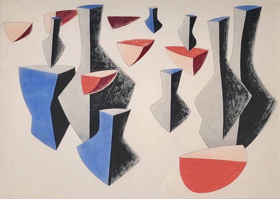 Harold Yates, Abstract Composition, 1935