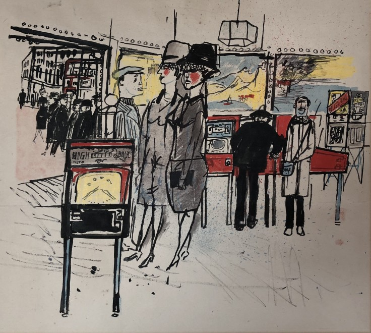 James Boswell, Soho, c. 1955