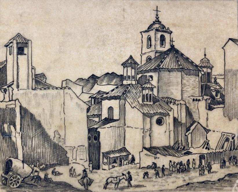 Ethelbert White, Malaga, 1934