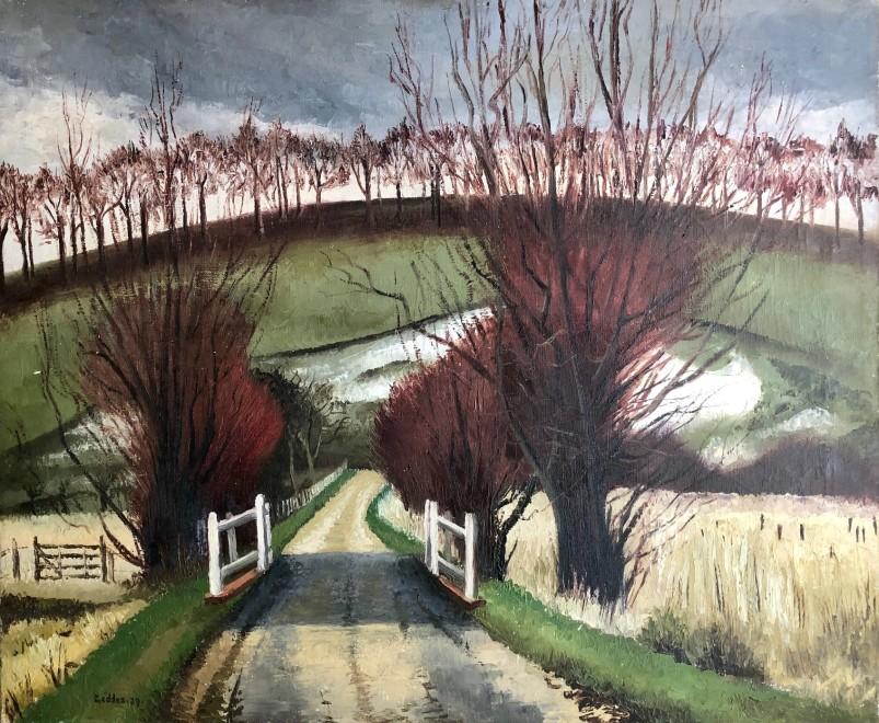 Margaret Geddes, Norfolk Landscape, 1939