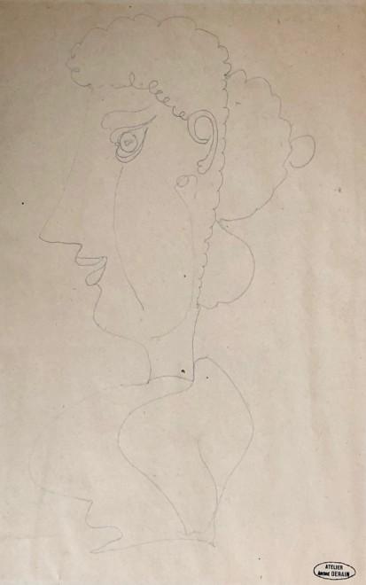 André Derain, Buste de femme, c. 1940
