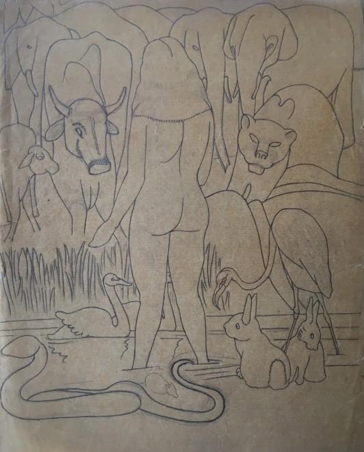 Rupert Lee, Eve, 1918