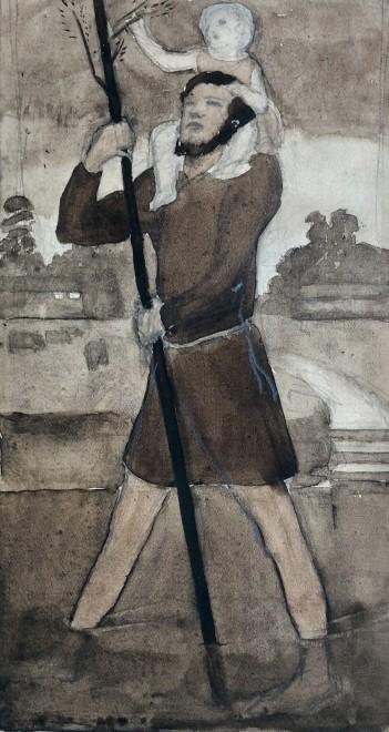 Dorothea Maclagan, St. Christopher, 1922