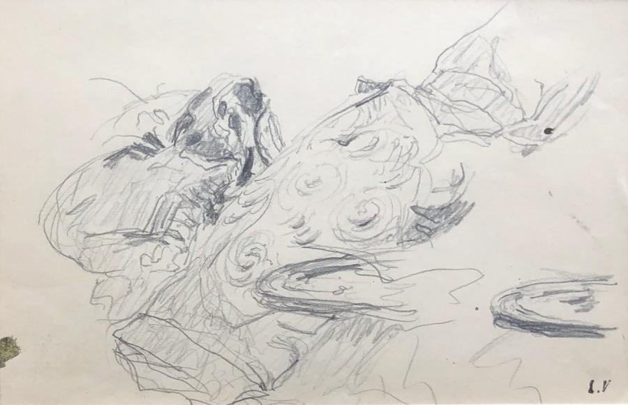 Edouard Vuillard, Study for 'Le Telegramme' (Cushions and Saucers), c. 1933