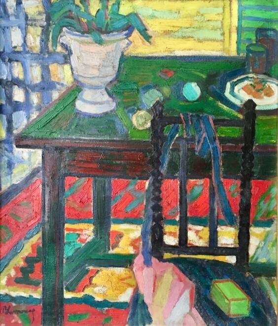 Roger Marcel Limouse, Interior Still Life, 1945